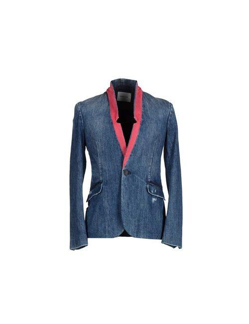 Pierre Balmain | Мужская Синяя Джинсовая Верхняя Одежда