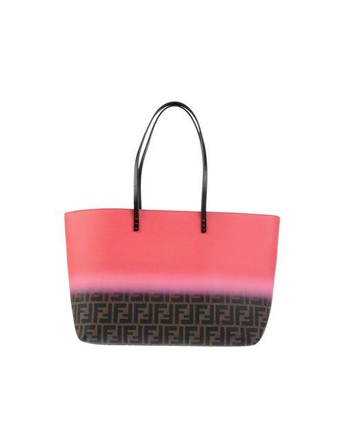 Fendi | Женская Розовая Сумка На Плечо