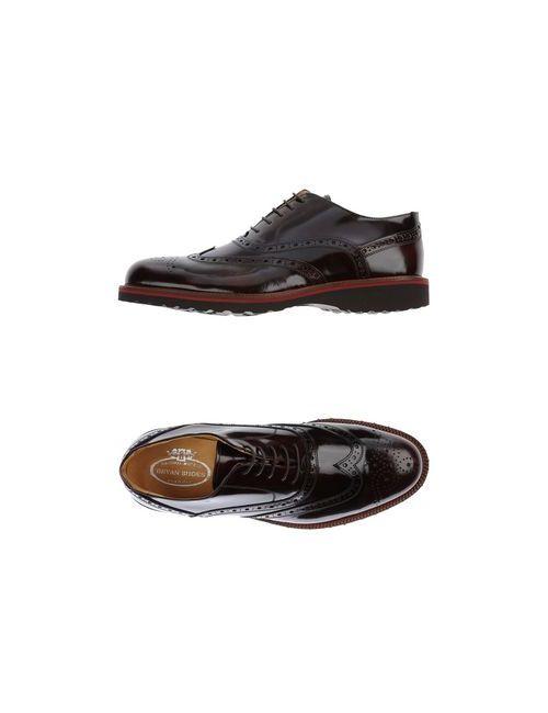 Bryan Shoes   Мужская Коричневая Обувь На Шнурках
