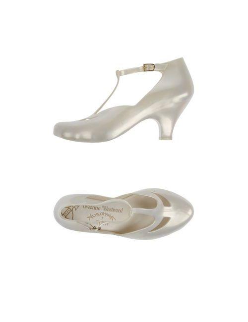 Vivienne Westwood Anglomania + Melissa | Женские Слоновая Кости Туфли