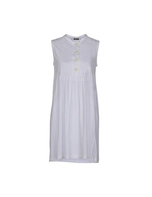 Aspesi | Женское Белое Короткое Платье