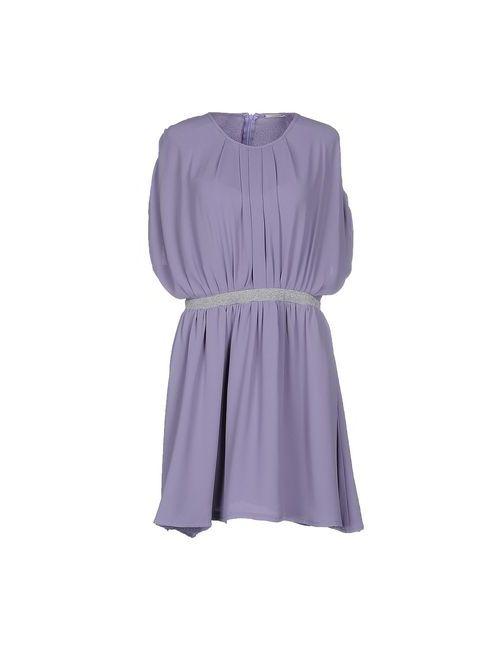 Noshua | Женское Фиолетовое Короткое Платье
