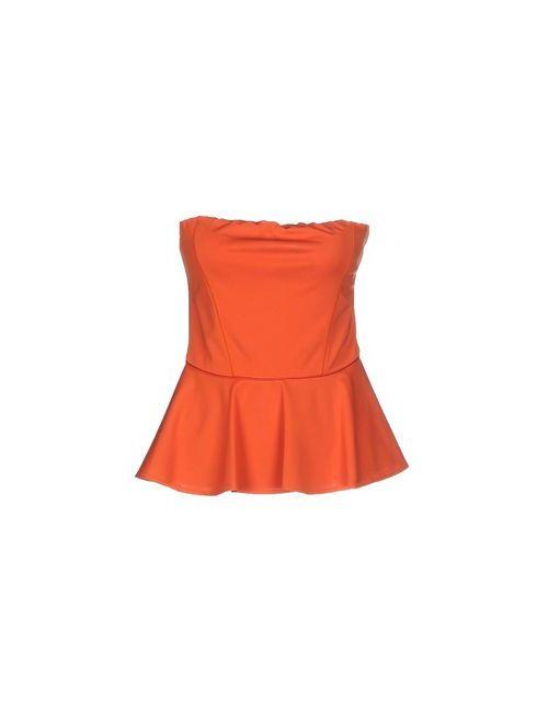 Pinko Black | Женское Оранжевое Бюстье
