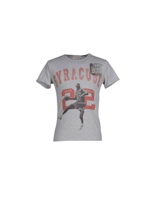 Athletic Vintage | Мужская Серая Футболка