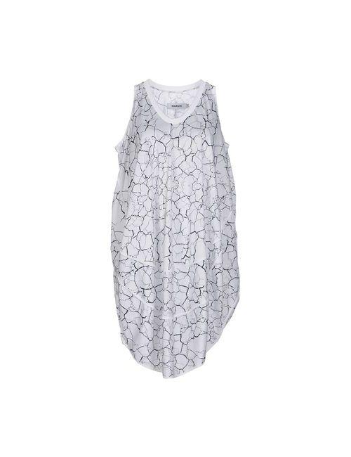 Marios | Женское Белое Короткое Платье