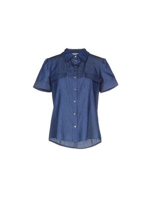 Biancoghiaccio | Женская Синяя Джинсовая Рубашка