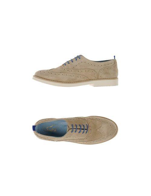 Snobs   Женская Песочная Обувь На Шнурках
