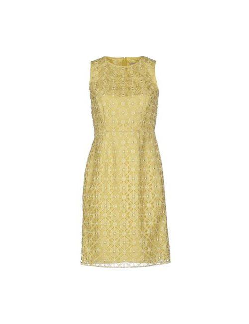 Hoss Intropia | Женское Зелёное Короткое Платье