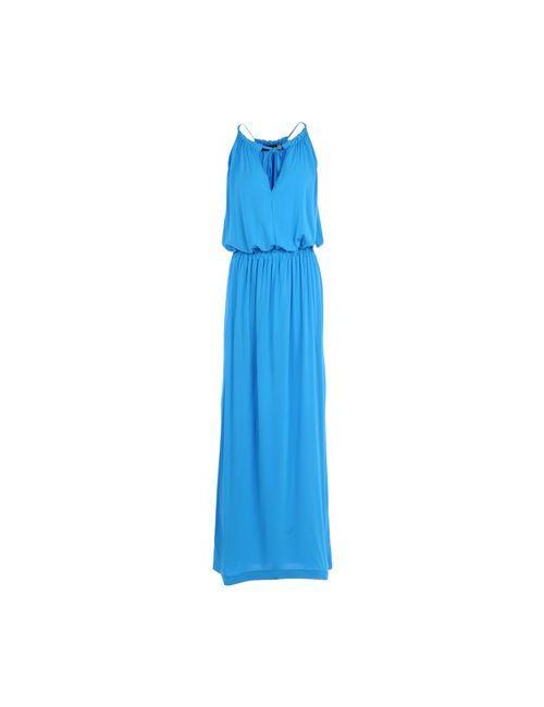 Love Moschino | Женское Лазурное Длинное Платье