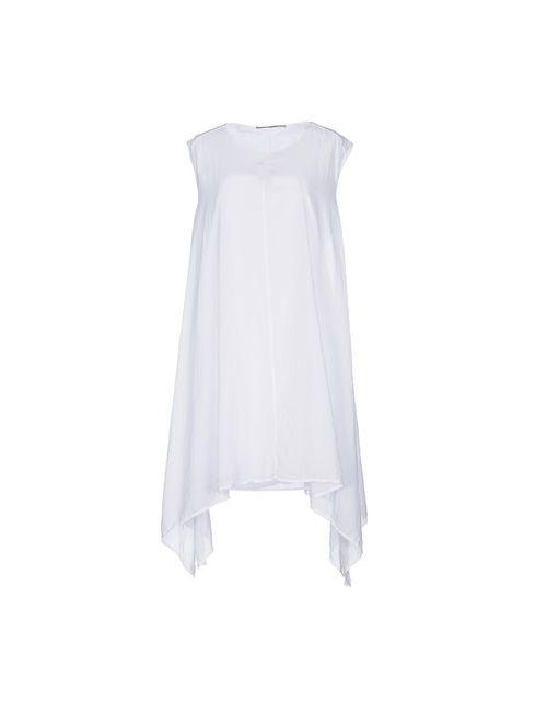 Diellequ | Женское Белое Короткое Платье