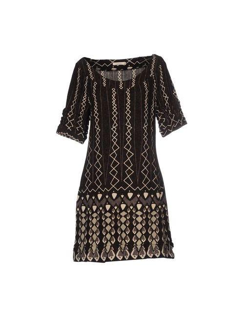 Lavand. | Женское Коричневое Короткое Платье