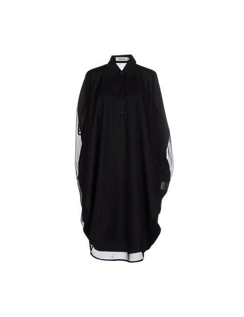 Marios   Женское Чёрное Платье До Колена