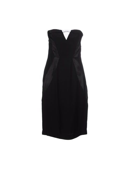 Silvian Heach   Женское Чёрное Короткое Платье