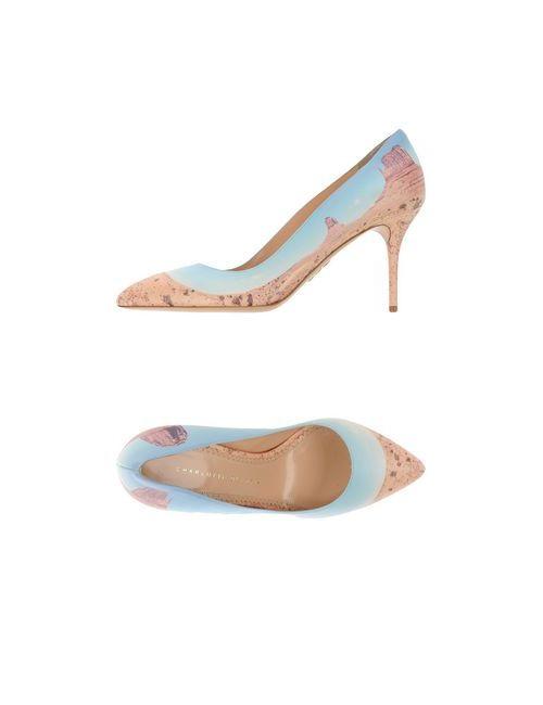 Charlotte Olympia | Женские Голубы Туфли