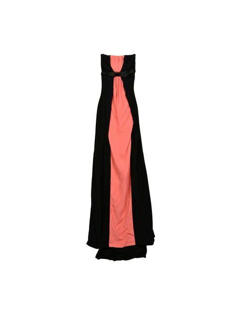 Dsquared2 | Женское Чёрное Длинное Платье