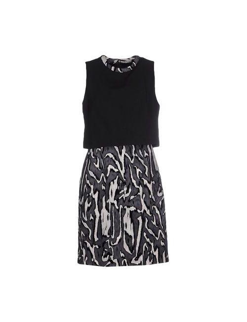 Proenza Schouler | Женское Чёрное Короткое Платье