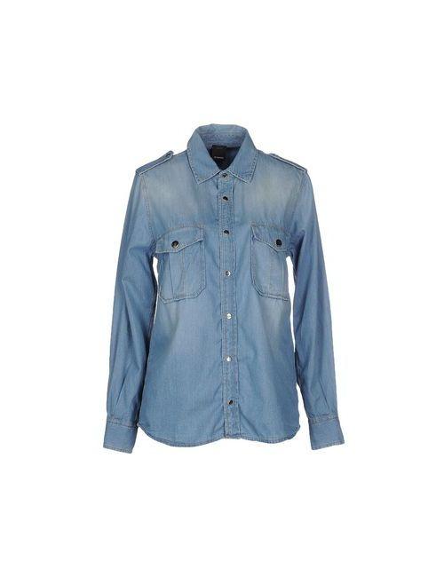 Pinko Black | Женская Синяя Джинсовая Рубашка