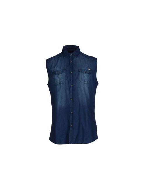 Antony Morato | Мужская Синяя Джинсовая Рубашка