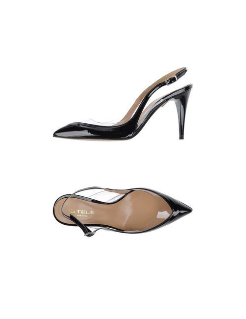 Stele | Женские Чёрные Туфли