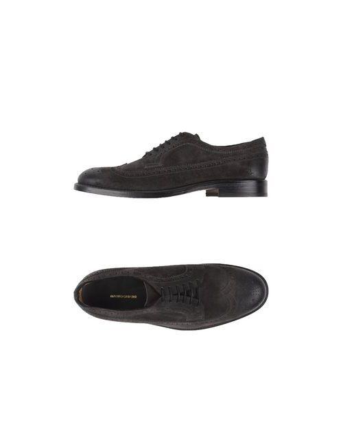 Mauro Grifoni | Мужская Серая Обувь На Шнурках