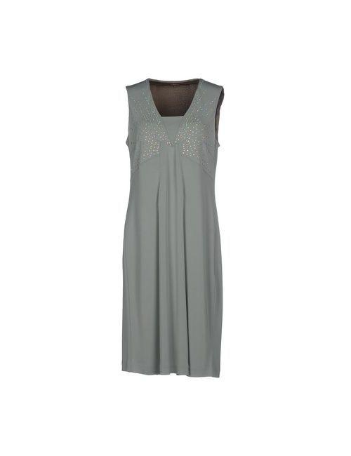 Maliparmi | Женское Зелёное Платье До Колена