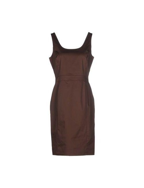 Seventy | Женское Какао Платье До Колена