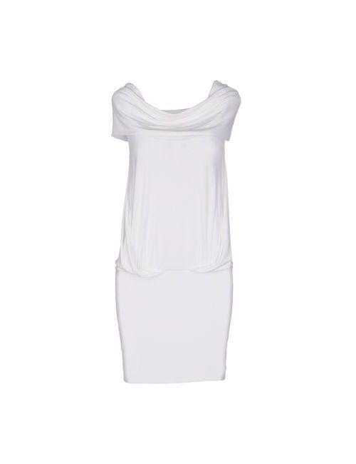 Plein Sud Jeanius   Женское Белое Короткое Платье