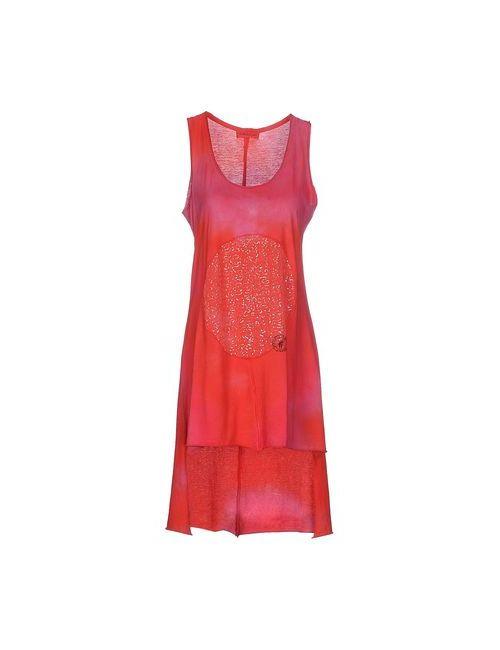 Bleifrei | Женское Красное Короткое Платье