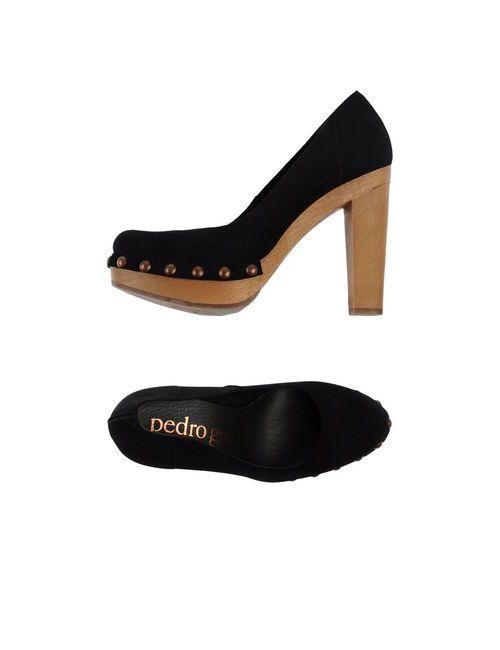 Pedro García | Женские Чёрные Туфли