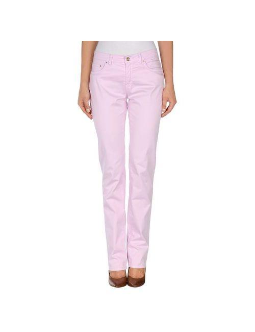 Trussardi Jeans | Женские Розовые Повседневные Брюки