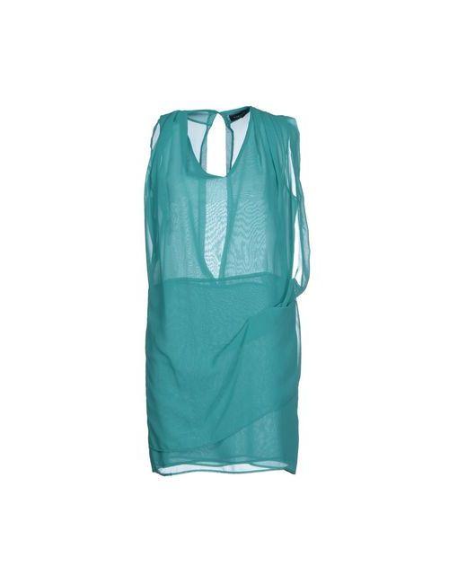 Adele Fado | Женское Зелёное Короткое Платье