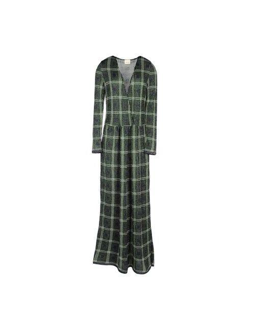 Circus Hotel | Женское Зелёное Длинное Платье