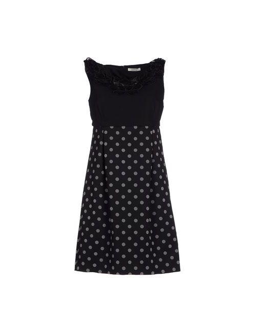 LUCKY LU  MILANO   Женское Черный Короткое Платье