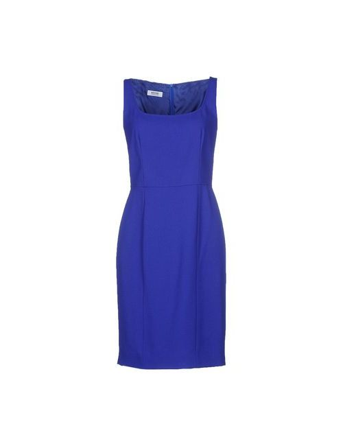 Moschino Cheap and Chic | Женское Синее Платье До Колена