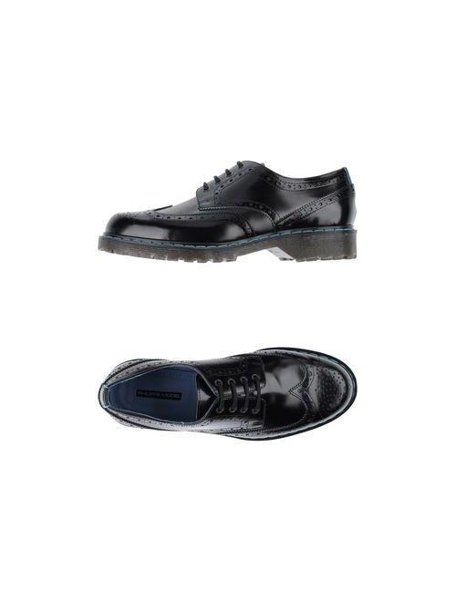 Philippe Model | Мужская Чёрная Обувь На Шнурках