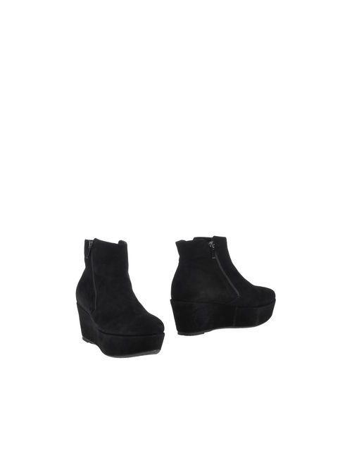 Donna Più   Женские Чёрные Полусапоги И Высокие Ботинки