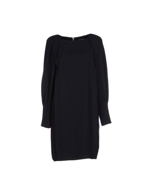 Class Roberto Cavalli | Женское Чёрное Короткое Платье