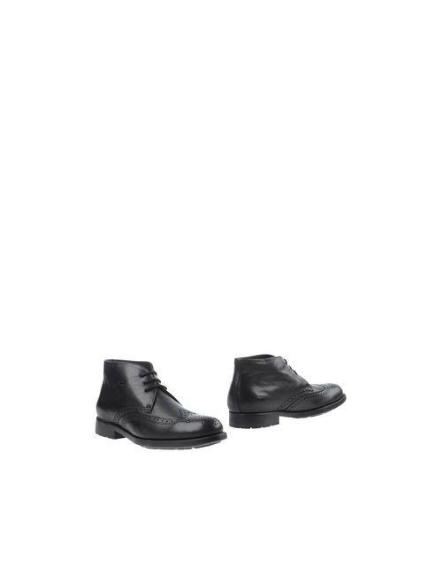 TROTTERS | Мужские Чёрные Полусапоги И Высокие Ботинки