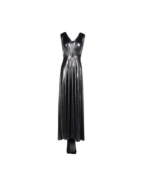 Von Vonni | Женское Серое Длинное Платье