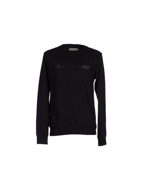 Calvin Klein Jeans | Мужская Чёрная Толстовка