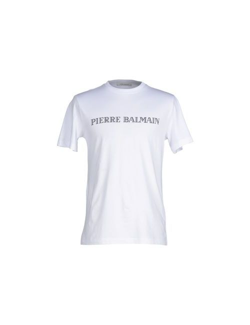 Pierre Balmain   Мужская Белая Футболка