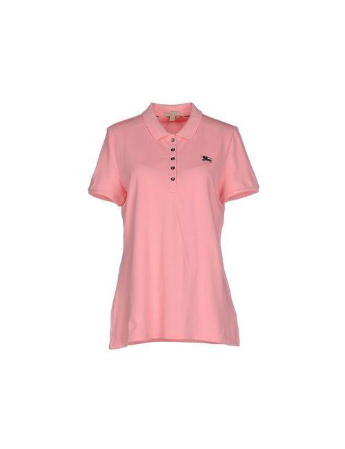 Burberry Brit | Женское Розовое Поло