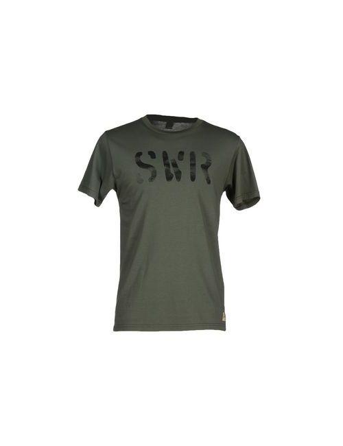 Sportswear Reg.   Мужская Зелёная Футболка
