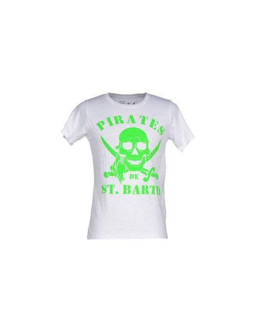 Mc2 Saint Barth | Мужская Белая Футболка