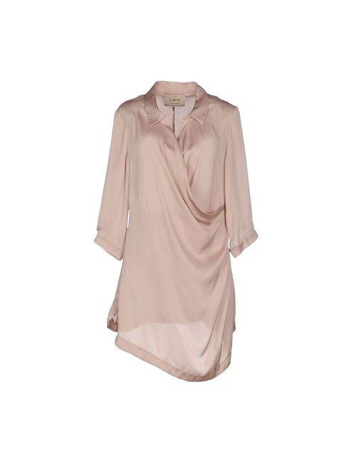 Aniye By | Женское Розовое Короткое Платье