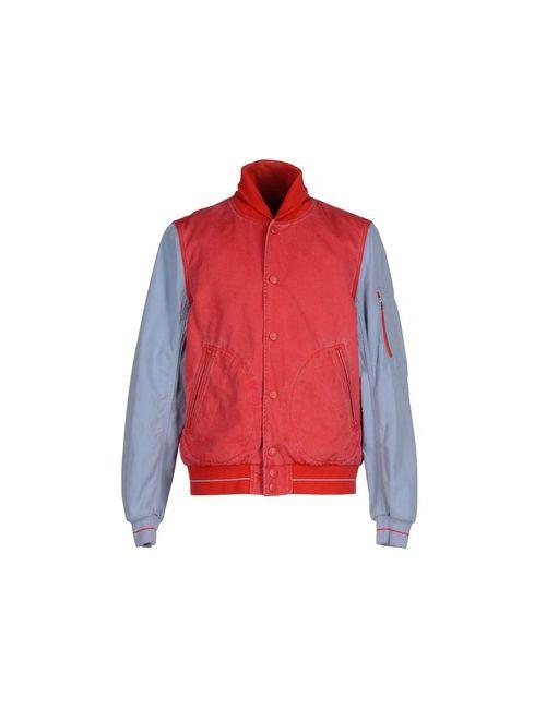 Jacob Cohёn | Мужская Красная Джинсовая Верхняя Одежда