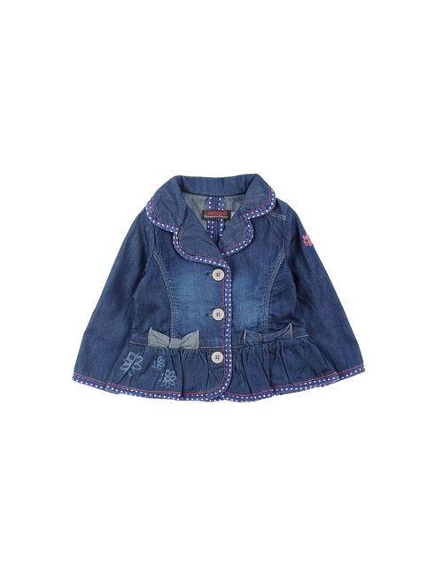 Catimini | Женская Синяя Джинсовая Верхняя Одежда
