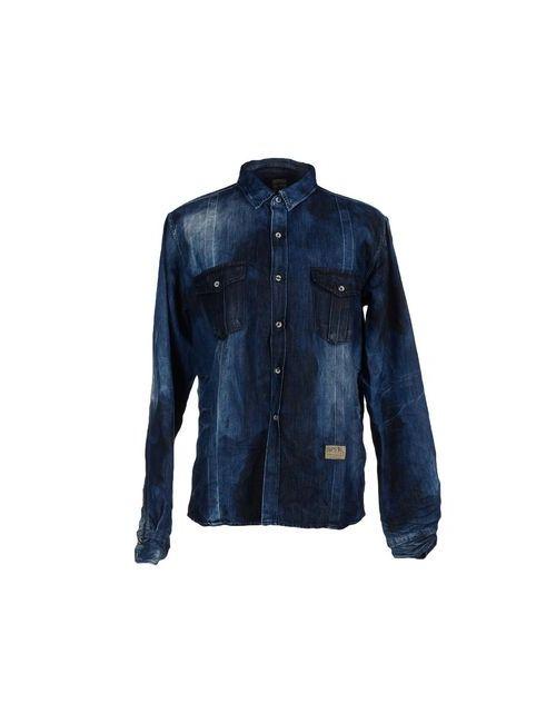 Prps | Мужская Синяя Джинсовая Рубашка