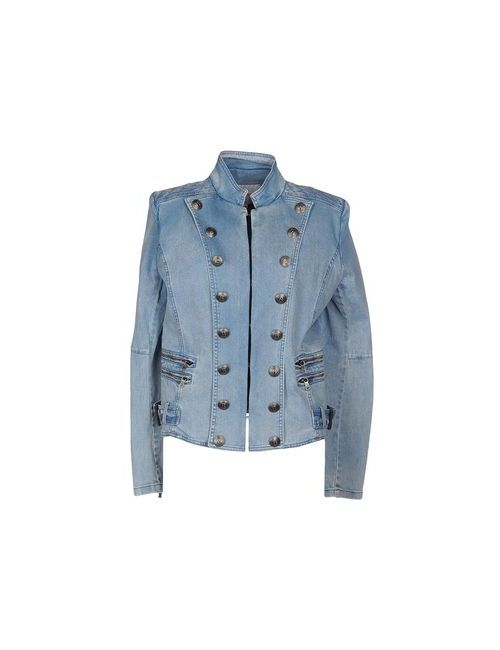 Pierre Balmain | Женская Синяя Джинсовая Верхняя Одежда