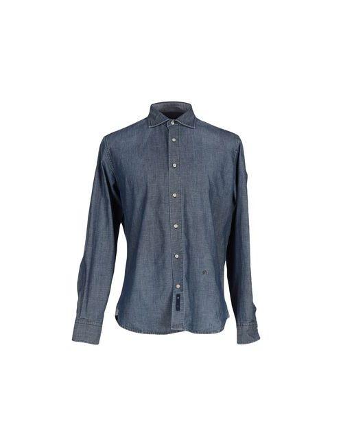 AVIGNON | Мужская Синяя Джинсовая Рубашка